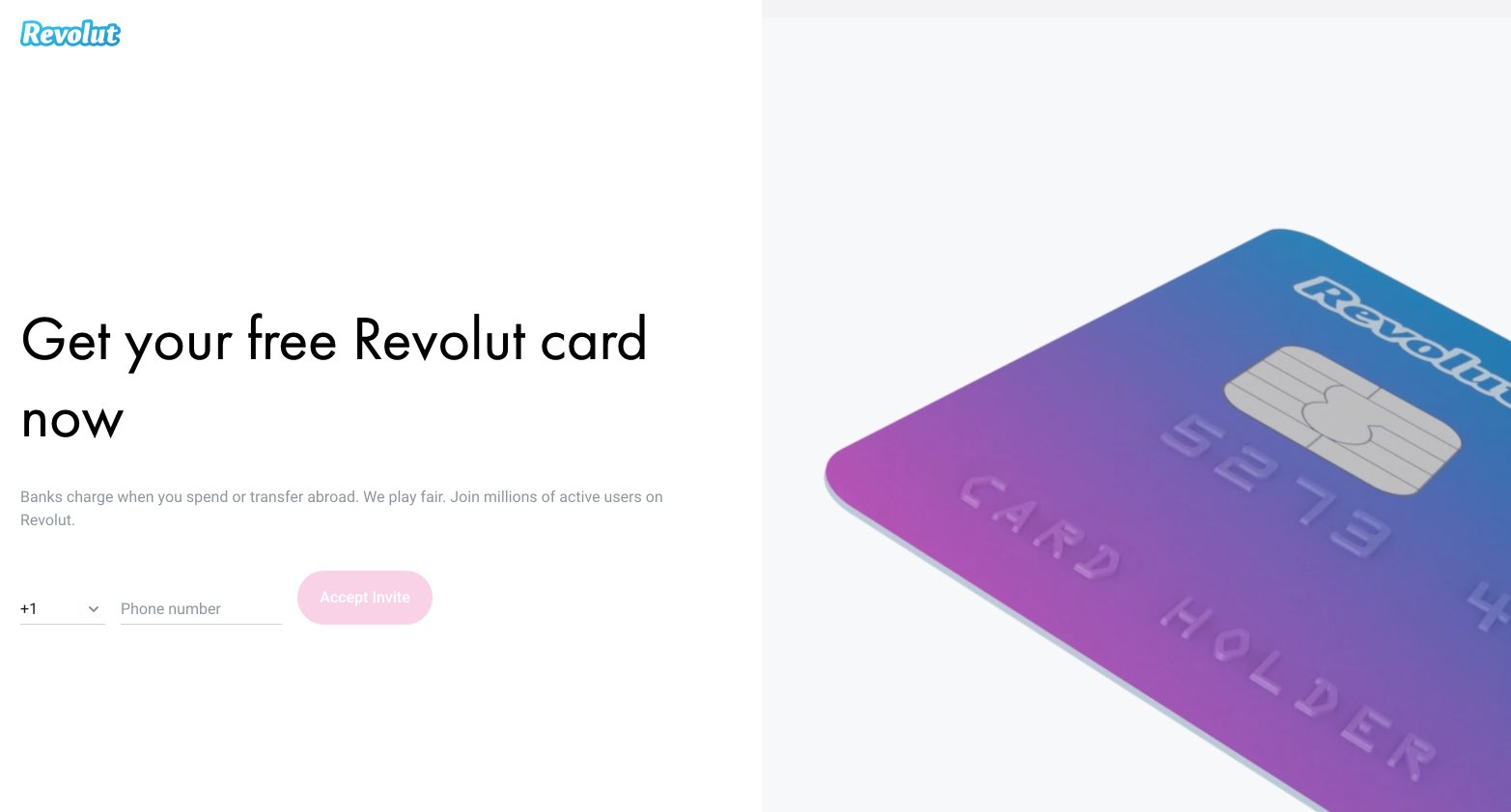 Revolut Card for paying in Russia