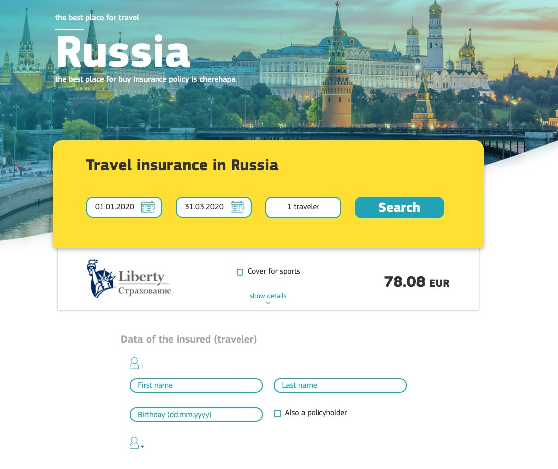Cheap insurance for Business visa - 3 months - 1 year