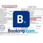 Russian invitation with Booking.com