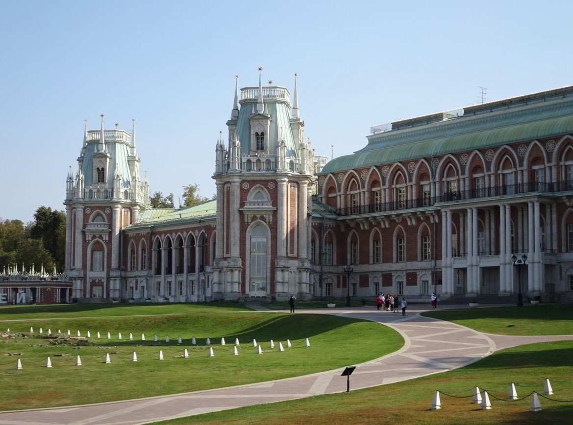 Grand Palace Tsaritsyno in Moscow
