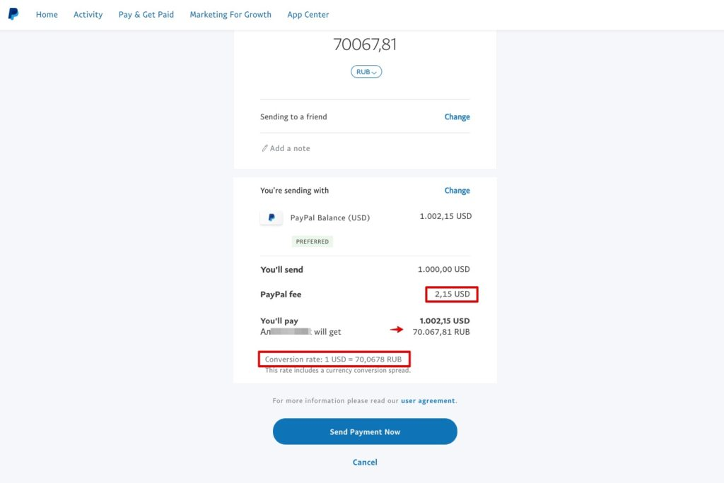 How To Send Money Russia Wu Paypal
